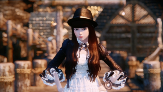 【Aion Opulent Outfit~V1.0】永恒之塔——华丽LO娘套装