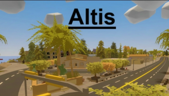 Altis from Arma III | RP-Map | Large | German, Version 2.1 B
