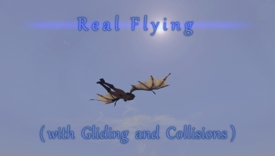 Real Flying (with Gliding and Collisions)-真正的飞行(滑翔和碰撞)v1.10
