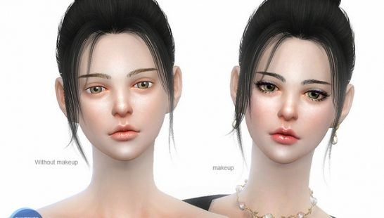 S-Club WMLL ts4 ASIAN skintones3.0 ALL AGE-亚洲人皮肤