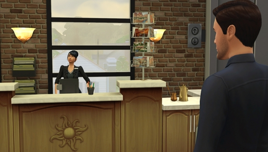 4 new careers for your sims! Firefighter - 4个新职业! 消防职业,酒店职业,