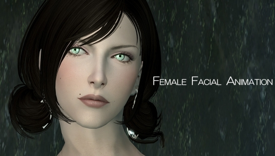 女性面部表情动画 Female Facial Animation 2.0