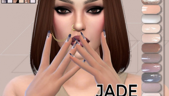 Nude Nails Pack Jade 指甲