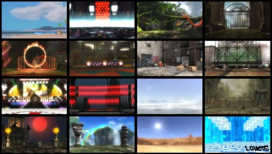 Stage Background PACK