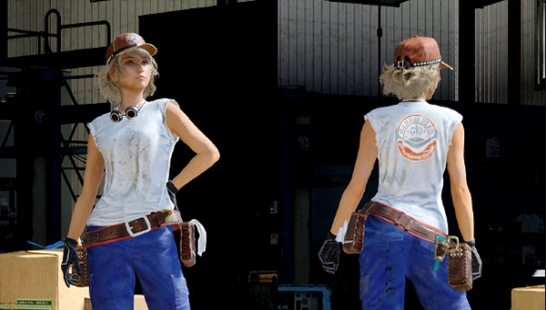 Mechanic Outfit - (Cindy)