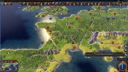 YnAMP - Yet (not) Another Maps Pack for Civ6 地图包