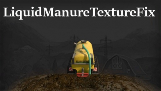 Liquid Manure Texture Fix