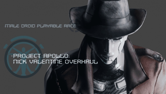 Project Apollo Androids - Nick Valentine Overhaul 机器人同伴大修