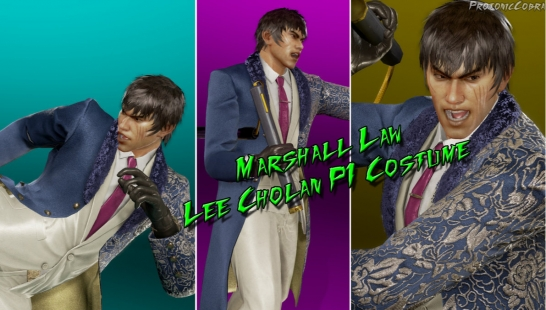 [Tekken 7 Outfit] Law Lee Choalan's P1 Outfit