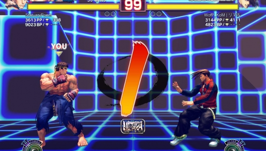 Training Stage CAP vs SNK 2