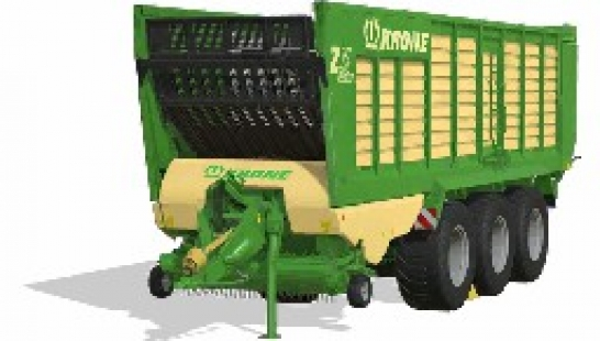 Krone ZX560GD by Stevie