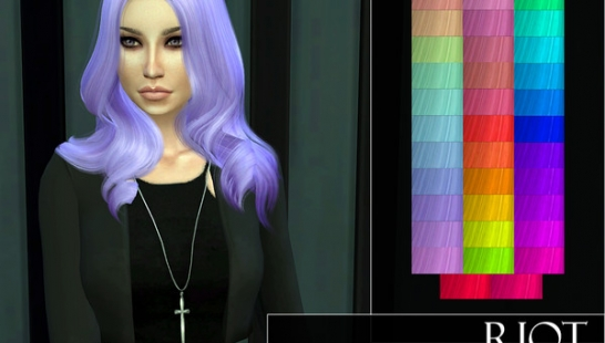 Riot - WINGS-OS01107 Hair Recolor 头发重新着色