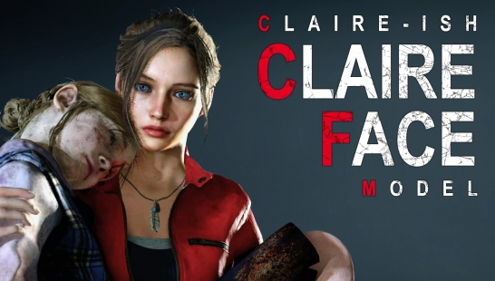 Claire-ish Claire Face Model(克莱尔面部MOD)