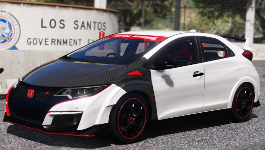 Honda Civic Type R(FK2)碳纤维零件