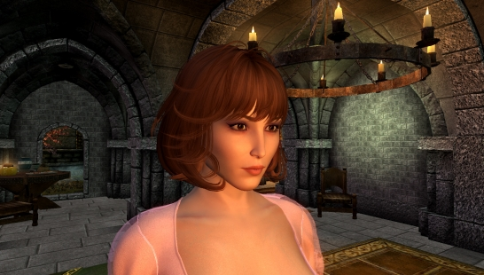 Noomi Rapace in the Skyrim