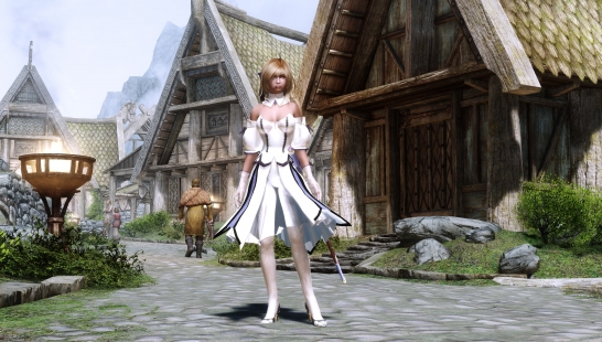 Saber Lily Outfit CBBE conversion 铠甲