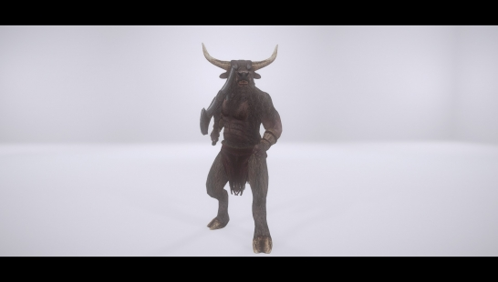 Minotaur Playable Race - Add-On To Mihail's Mod