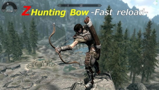 Z Hunting Bow -Fast reload-