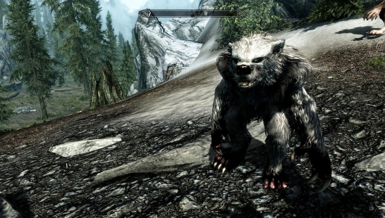 Tamaska Werebear(男性和女性Werebear Mesh Replacer)