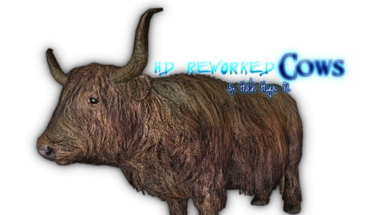 HD Reworked Cows 高清重制奶牛