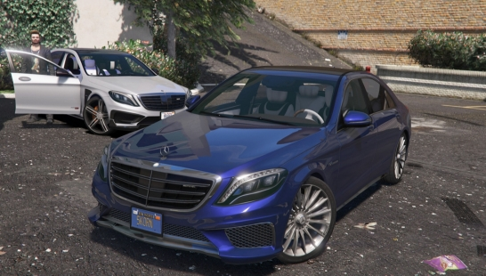 2014 Mercedes-Benz AMG S65 W222 [Add-On / Replace] 1.4