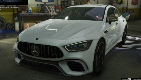 Mercedes‑AMG GT 63 S [Add-On | Auto Spoiler | Tuning] 1.0