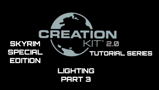 Skyrim SE Creation Kit教程系列第3部分