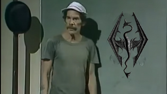 Skyrim SE - Risadas do Chaves