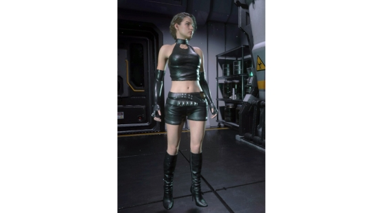 Rebecca Chambers Cosplay - RE0 Concept Art  本体