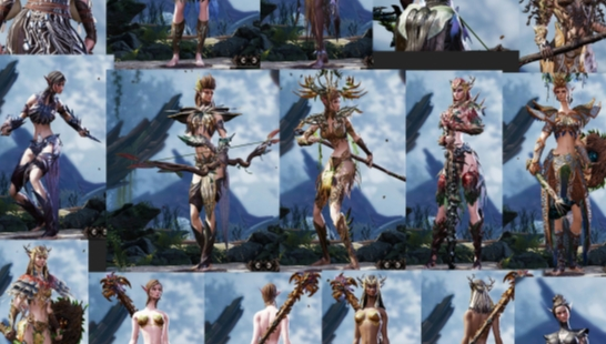 "女精灵纹理""整容"" Clean Elven Bodies - CEB V1.1"