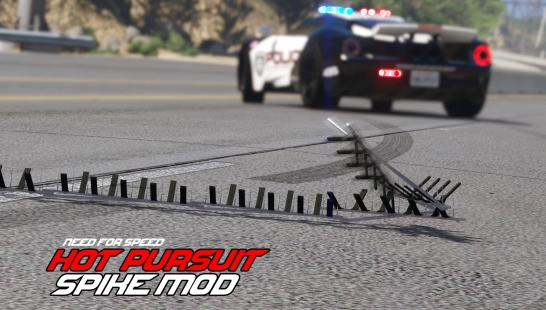 NFS Spike Mod - Drop Spike (Best with LSPDFR) 1.5