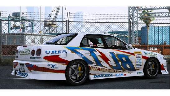 BLITZ D1GP SKYLINE ER34 [Add-On | RHD] URAS D1 SPEC2