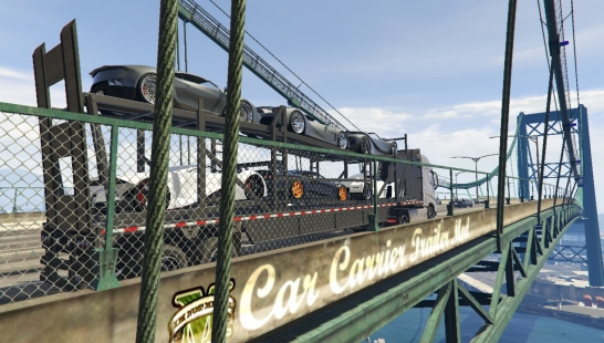 Car Carrier Trailer Mod