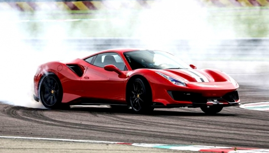 Top Speed Handling for Ferrari 488 Pista
