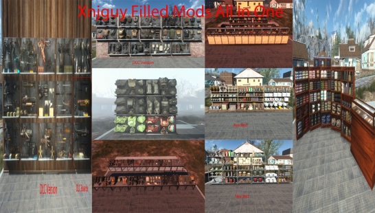 Xnjguy填充Mods All-In-One加上新Mod