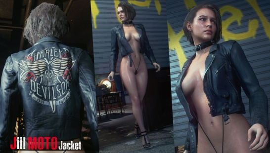 Jill Moto Jacket - Latex Addon