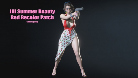 Jill Summer Beauty Olive Recolor Patch(红色附件)