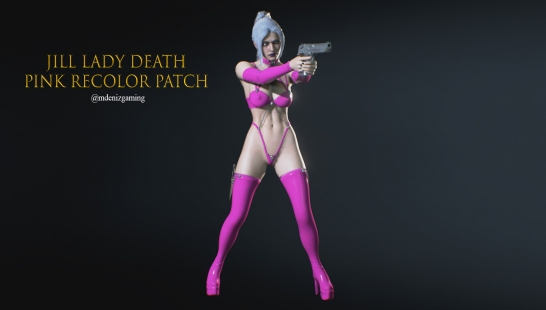 Jill Lady Death Pink Recolor Patch