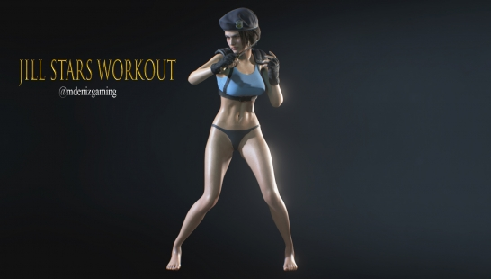 Jill Stars Workout - Main本体
