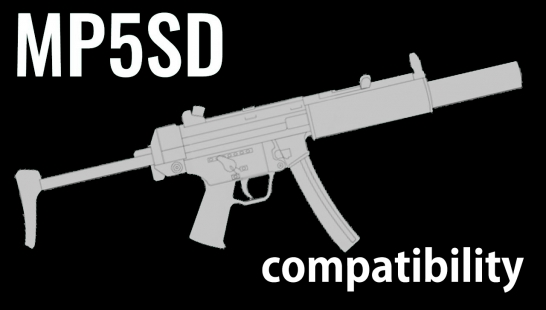 MP5SD comaptibility - Samurai Edge Silver Custom附件