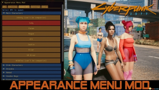 召唤换装Appearance Menu Modmod1.75
