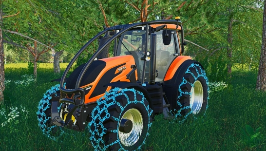 Valtra T Forest Pack