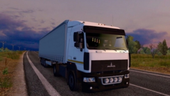 Truck Maz 5340 /5440 / 6430A8 Remodeled