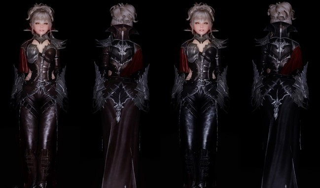 Vampire Leather Armor UUNP HDT