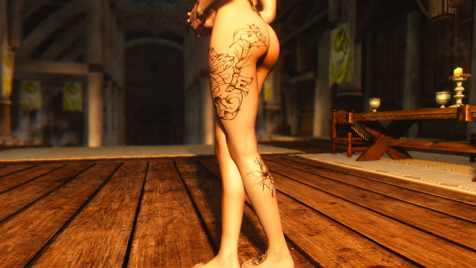 Rutah Tattoo Pack for RaceMenu-纹身包用于RaceMenu捏脸 v1.0