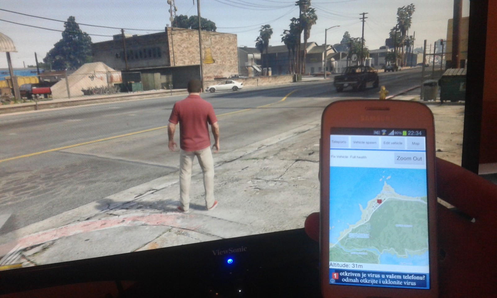 GTA V Android Remote Trainer