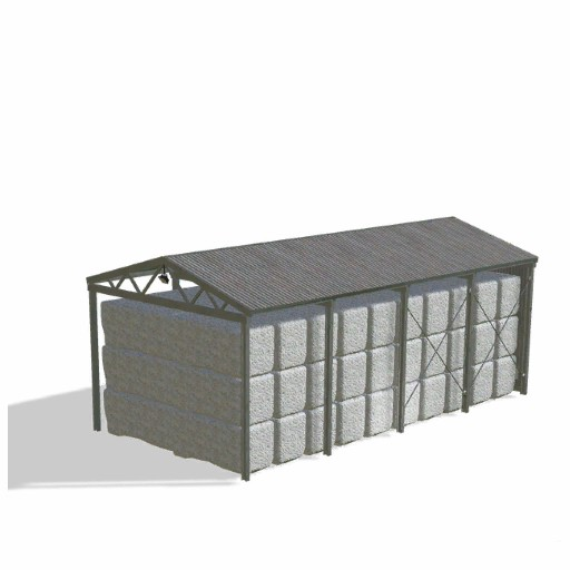 Steel Cotton Sheds(棉花捆棚屋)