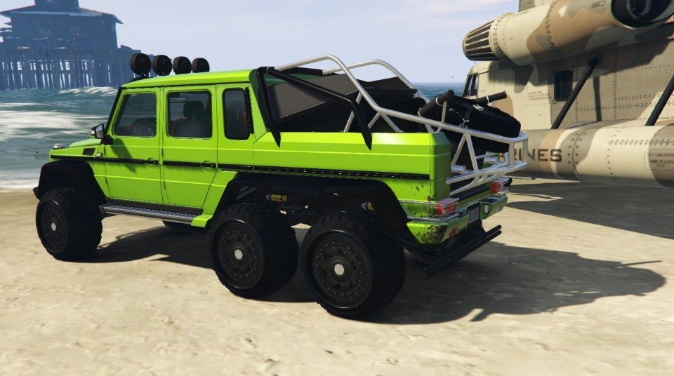 Mercedes-Benz G63 AMG 6x6 [Add-On | Tuning | Template] 1.0