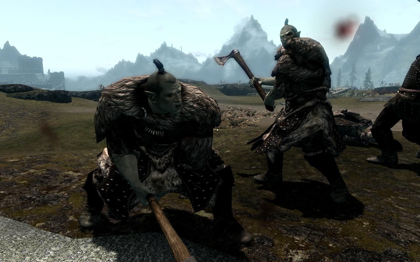 Orc Raiders of Skyrim  天际的兽人突袭者