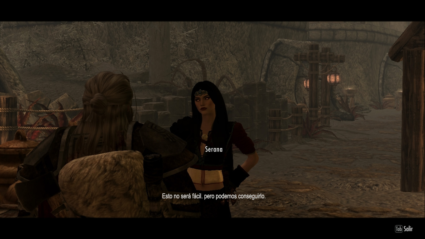 Serana Dialogue Edit-Skyrim特别版(Voces y Textos)